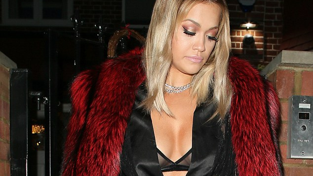 OMG! Rita Ora Wore the Underwear as Outerwear Trend Out & About in London! Quotes