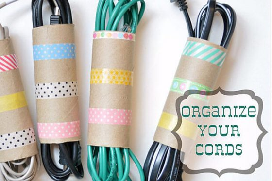 Get your DIY life in order with these 12 Simple organisational tricks! DIY Tricks Home Hacks