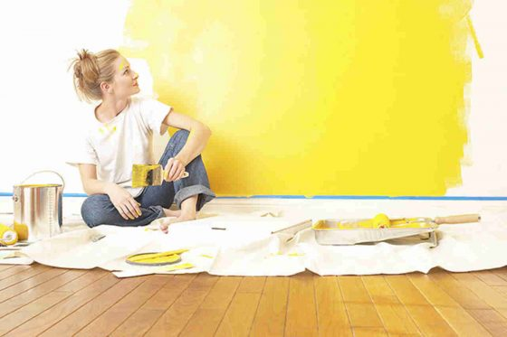 20 creative ways to transform your home with a little paint! Design DIY Tricks